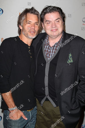 Stock Picture of Tim Olyphant and Oliver Platt