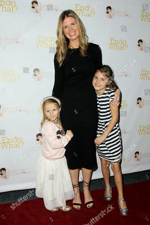 Stock Picture of Shannon Cohn (Director, Producer) with Daughters