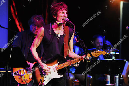 Ronnie Wood and Mick Taylor