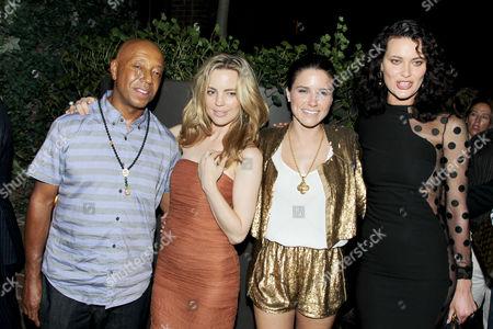 Russell Simmons, Melissa George, Sophia Bush, Shalom Harlow
