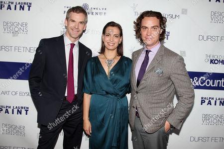 Jesse Carrier, Mara Miller and Jay Fielden