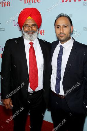 Stock Photo of Harpreet Singh Toor with Son