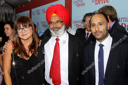 Stock Picture of Isabel Coixet (Director), Harpreet Singh Toor with Son