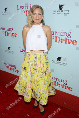 Editorial picture of 'Learning to Drive' film premiere, New York, America - 17 Aug 2015