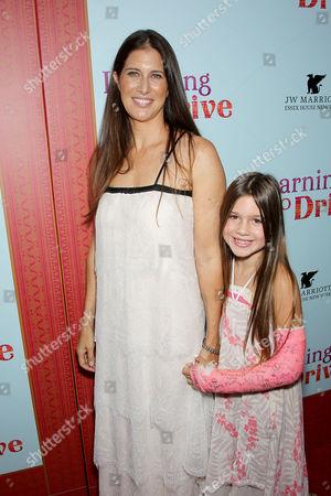 Dana Friedman (Producer) with Daughter