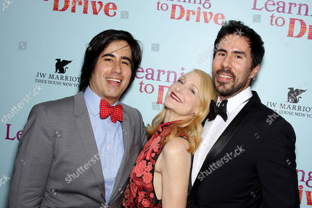 Daniel Hammond (CCO Broad Green Pictures), Patricia Clarkson, Gabriel Hammond (CEO Broad Green Pictures)