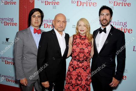 Daniel Hammond (CCO Broad Green Pictures), Sir Ben Kingsley, Patricia Clarkson, Gabriel Hammond (CEO Broad Green Pictures)