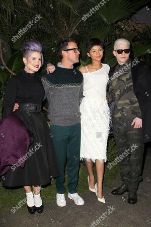 Editorial photo of Christian Siriano show, Autumn Winter 2015, Mercedes-Benz Fashion Week, New York, America - 14 Feb 2015