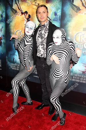 Editorial picture of 'Cirque Du Soleil: Worlds Away' special screening, New York, America - 20 Dec 2012