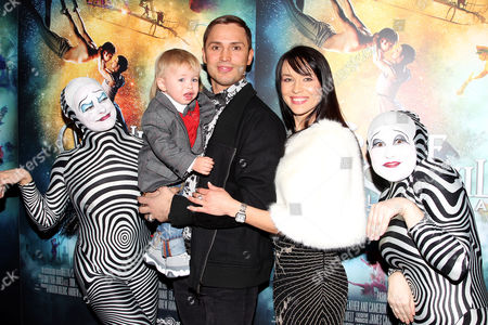 Igor Zaripov with family and Zebra Performers