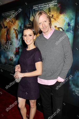 Stock Photo of Erica Linz and Andrew Adamson