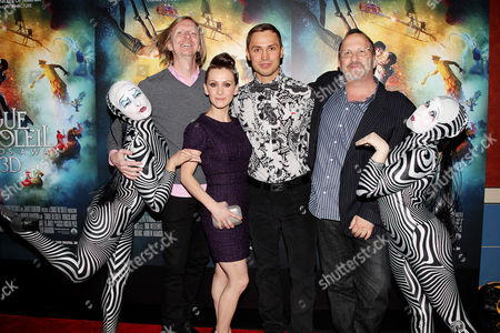 Editorial image of 'Cirque Du Soleil: Worlds Away' special screening, New York, America - 20 Dec 2012