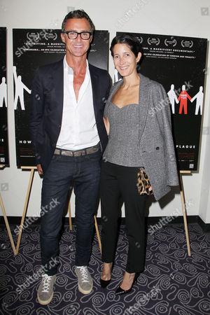 Antony Todd and Amanda Ross