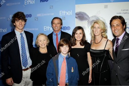 Ethel Shakel Kennedy, Robert Kennedy with Family and Rory Kennedy