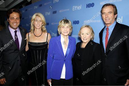 Mark Bailey, Rory Kennedy (Director,Producer), Ambassador Jean Kennedy-Smith, Ethel Shakel Kennedy and Robert F. Kennedy Jr