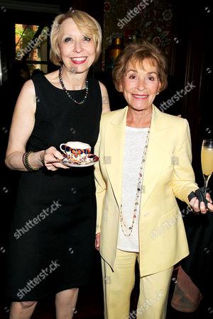 Julie Halston and Judy Sheindlin Scheindlin