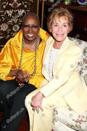 Judith Jamison and Judy Sheindlin Scheindlin
