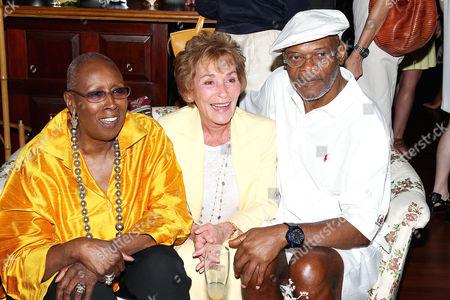 Judith Jamison, Judy Sheindlin Scheindlin and Samuel L. Jackson