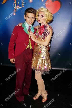 Michael Longoria and Annaleigh Ashford (performers)