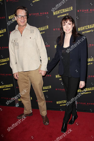 Bill Paxton and Louise Newbury (wife)