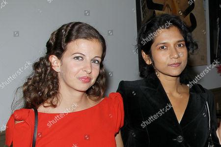 Stock Picture of Chiara Clemente, Tanya Selvaratnam