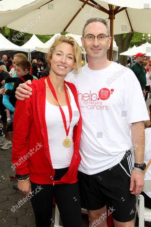 Elaine Irwin  and Alan Ennis (Pres. and CEO, Revlon)
