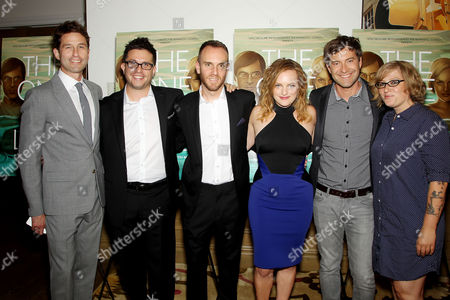 Jason Janego (Co-President of RADiUS-TWC), Justin Lader, Charlie McDowell (Director), Elisabeth Moss, Mark Duplass, Mel Eslyn (Producer)