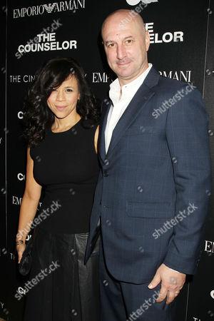 Rosie Perez and Eric Hayes
