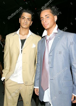 Frankie Gotti and Carmine Gotti