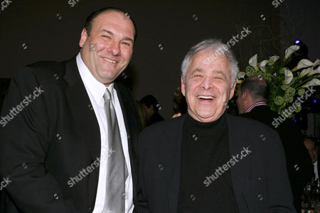 Stock Photo of James Gandolfini and Chuck Barris