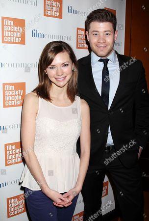 Stock Photo of Carrie Mackelmore and Ryan Metcalf