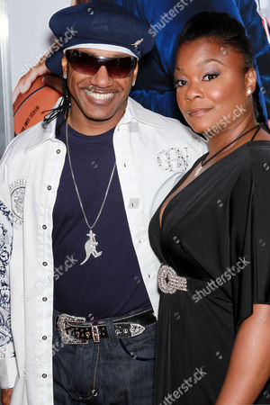 Stock Picture of Kangol Kid and Roxanne Shante