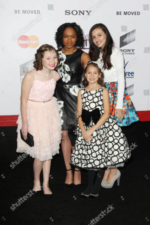 Stock Picture of Nicolette Pierini, Eden Duncan-Smith, Amanda Troya and Zoe Margaret Colletti
