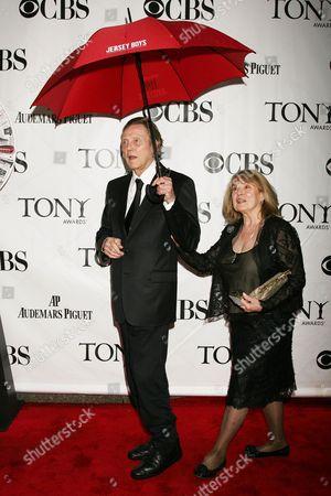 Christopher Walken with Wife Georgianne Walken