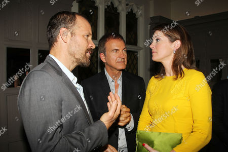Stock Picture of Peter Sarsgaard, Ed Walson, Norah O'Donnell