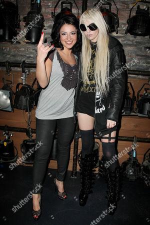 Juliya Chernetsky and Taylor Momsen