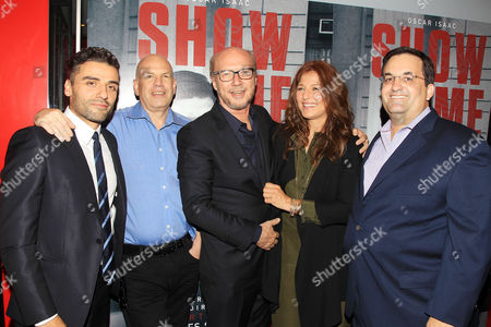 Oscar Isaac, David Simon, Paul Haggis, Catherine Keener, Kary Antholis