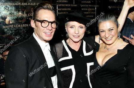 Todd Thomas, Deborah Harry and Sophia Neophitou-Apostolou