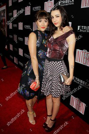 Christina Scherer and Hannah Marks