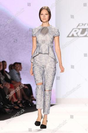 Stock Image of Model (Wearing Helen Castillo)