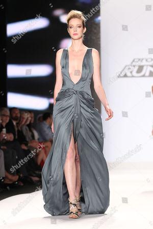 Model (Wearing Helen Castillo)