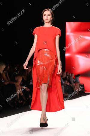 Stock Photo of Model (Wearing Helen Castillo)