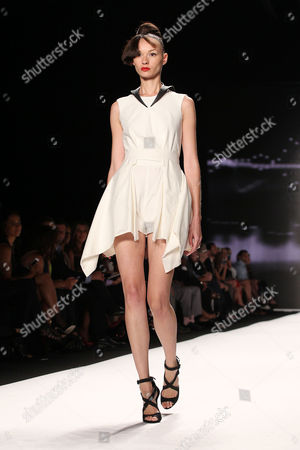 Editorial image of Project Runway show, Fall 2013 Mercedes-Benz Fashion Week, New York, America - 06 Sep 2013