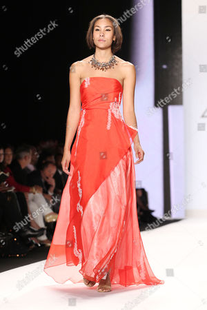 Editorial photo of Project Runway show, Fall 2013 Mercedes-Benz Fashion Week, New York, America - 06 Sep 2013