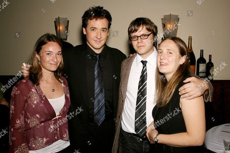 Celine Rattray (producer), John Cusack, James C. Strouse director) and Galt Niederhoffer (producer)