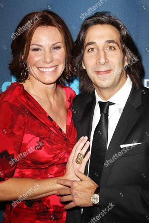 Stock Photo of LuAnn de Lesseps and Jacques Azoulay