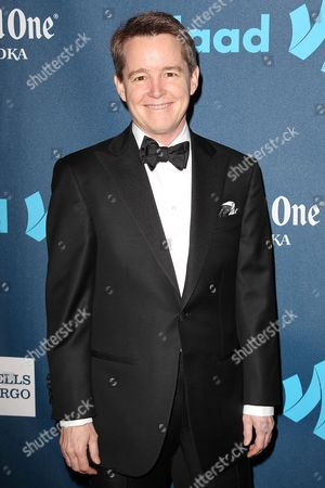 Editorial picture of 24th Annual GLAAD Media Awards, New York, America - 16 Mar 2013