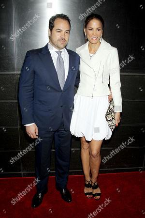 Veronica Webb with Chris Del Gatto