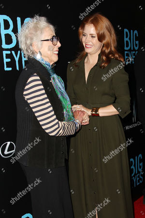 Margaret Keane and Amy Adams