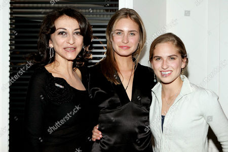 Nathalie Rykiel, Lauren Bush and Ashley Bush